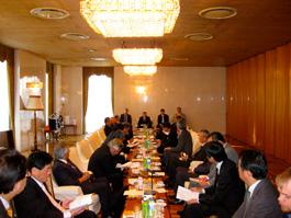 第9回日露経済問題協議会の開催風景