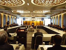 平成21年度FEC通常総会開会風景